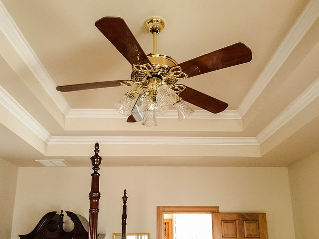 Ceiling Fan-Chandelier